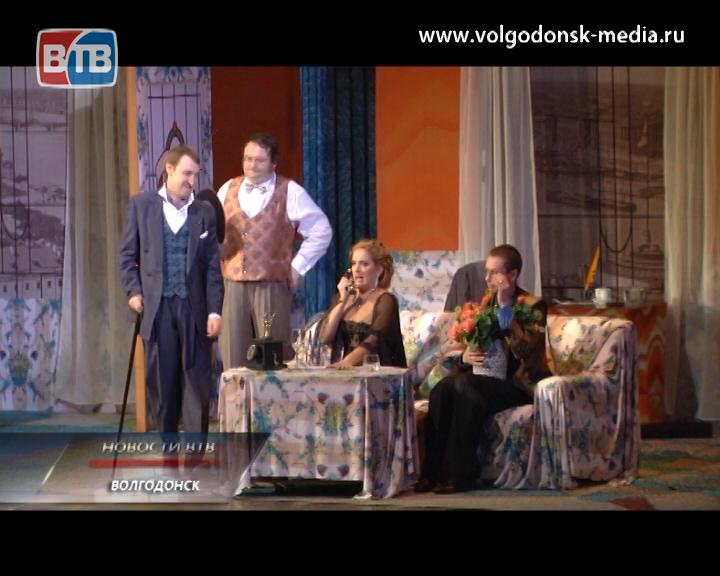 «Идеальная жена». Народные артисты привезли в Волгодонск новый спектакль