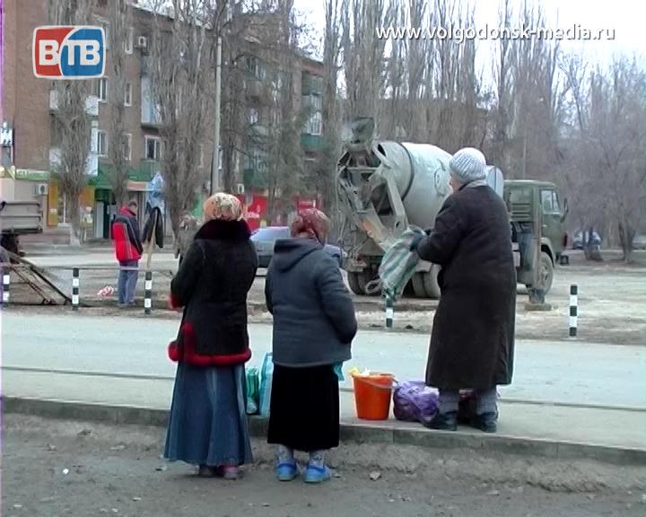 В Волгодонске продолжается борьба с несанкционированной торговлей