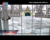 Каток в парке «Победа» не открыли