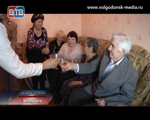60 лет совместной жизни отметили супруги Булахтины