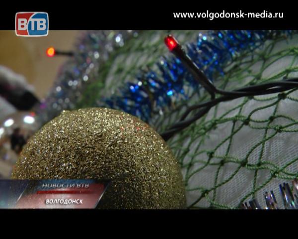 В Волгодонске прошел конкурс интерактивных елок «Ассамбляж-3»