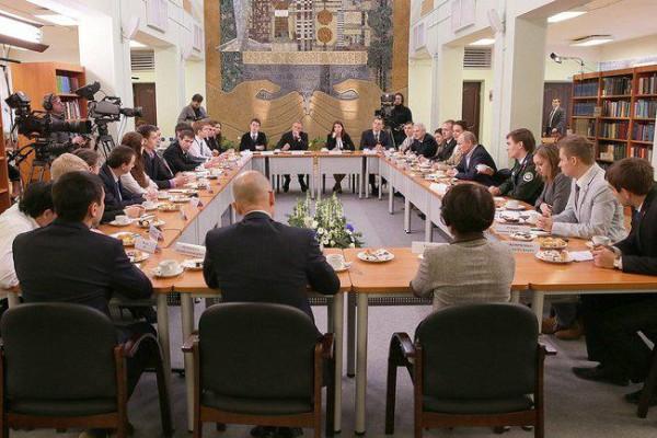 Волгодонские студенты встретились с Президентом
