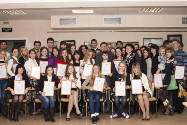 Мэр Волгодонска встретился с одаренной и талантливой молодежью города