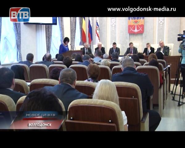 В Администрации Волгодонска сегодня состоялось первое в 2014 году планёрное совещание