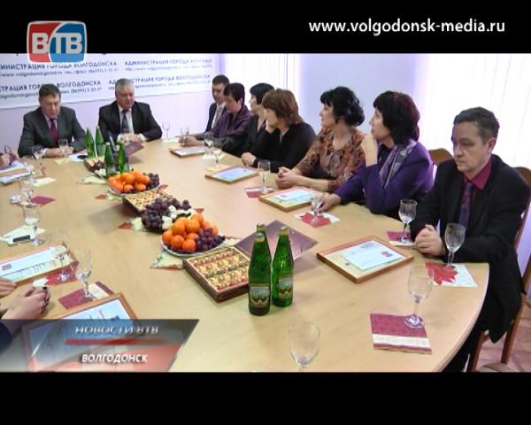 В Администрации города состоялся прием в честь Дня российской печати