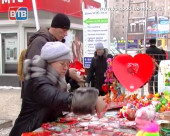 В день Святого Валентина на Комсомольской площади планируют провести акцию с поцелуями