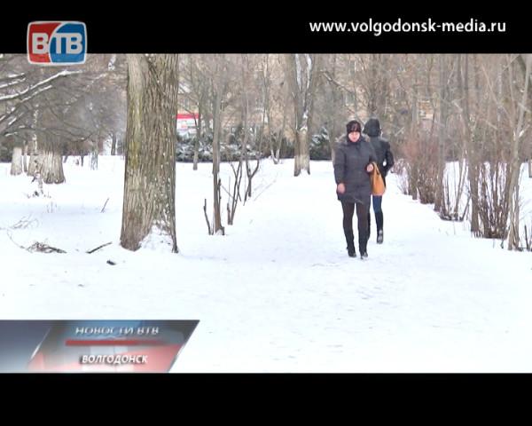 Волгодонск — в ледовом плену