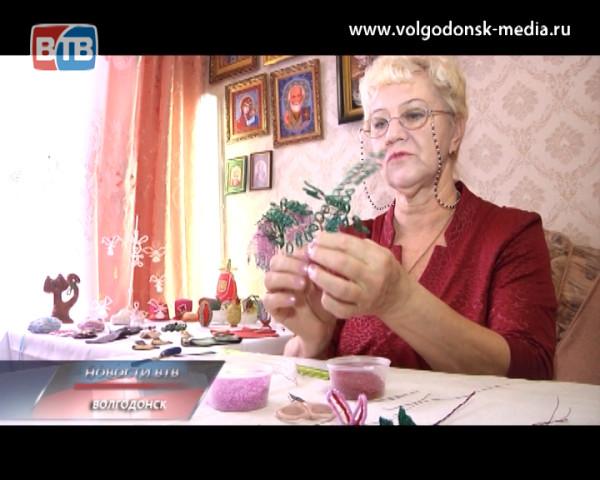 Жительница Волгодонска превратила свою квартиру в музей рукоделия