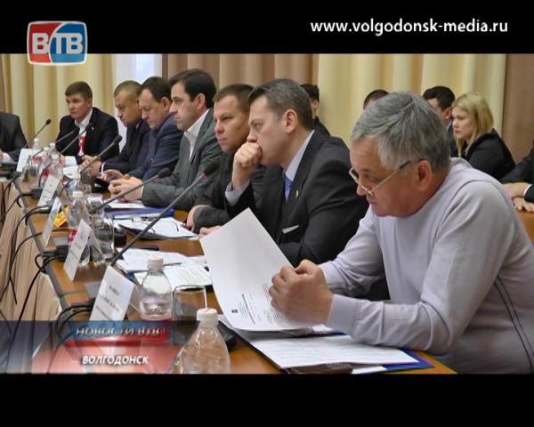 Депутаты Волгодонской городской Думы встретились на первом плановом заседании в этом году