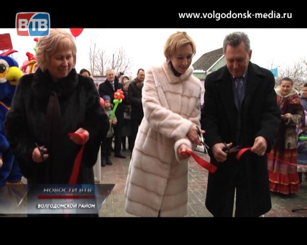 В станице Романовской открыт новый детский сад на 110 мест