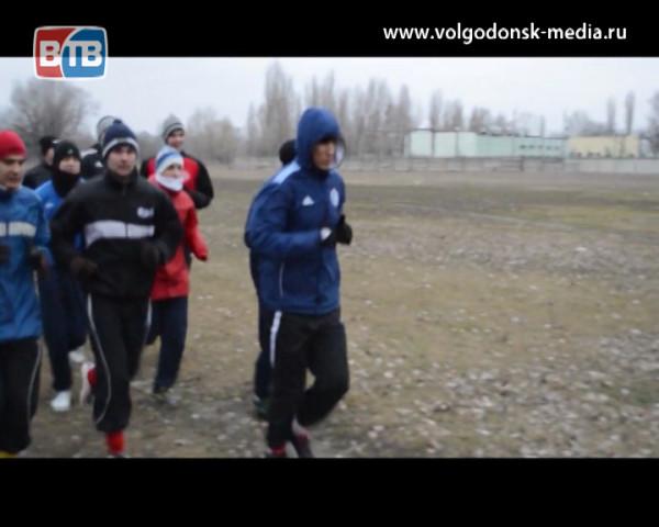 Волгодонский футбольный клуб «Маяк» начал подготовку к новому сезону