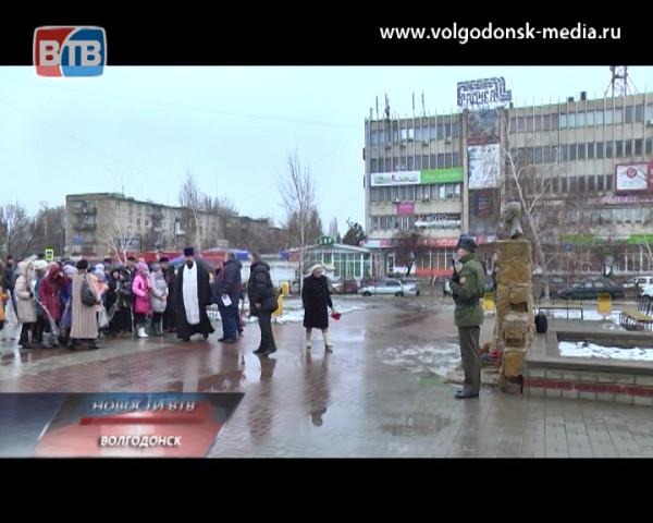 Волгодонск почтил память гвардейцев шестой парашютно-десантной роты