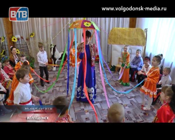 Детский сад «Солнышко» познакомил своих воспитанников c масленицей