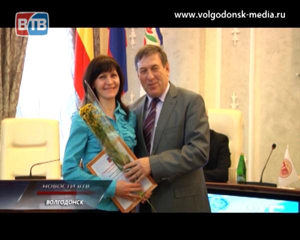 Работникам культуры Волгодонска вручили награды