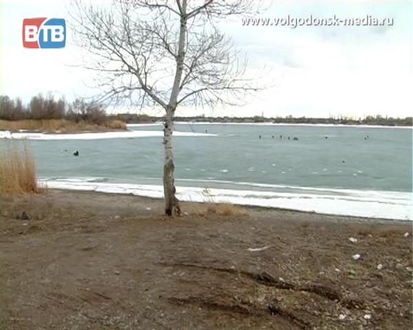 Еще одному любителю «ледового» экстрима из Волгодонска чудом удалось спастись