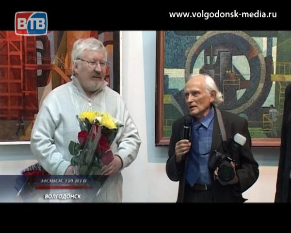 В Волгодонском художественном музее открылась юбилейная персональная выставка Юрия Рябчинского