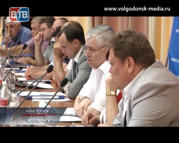 Главной темой майского заседания Волгодонской Думы стала разработка экстренных мер по повышению собираемости городского бюджета