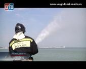 В Волгодонске прошли масштабные учения по тушению ландшафтных пожаров