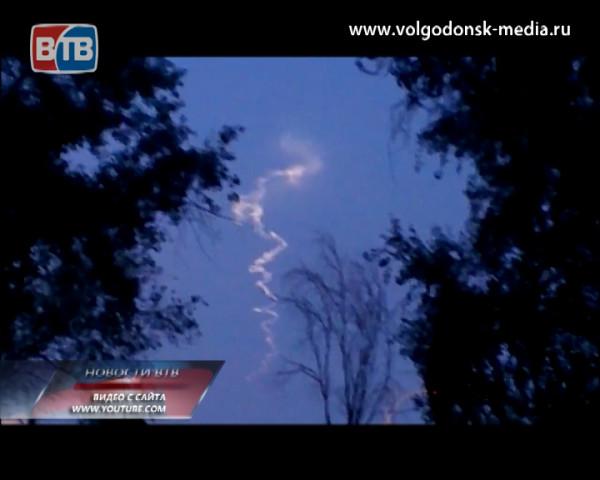 Волгодонцы наблюдали за полетом баллистической ракеты