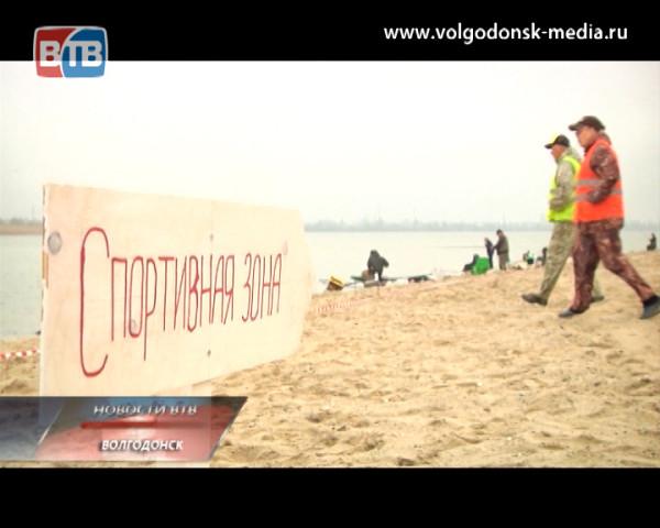 В Волгодонске прошёл первый профессиональный турнир по фидерной ловле рыбы