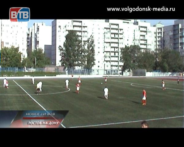 Волгодонский футбольный клуб «Маяк» победил на выезде
