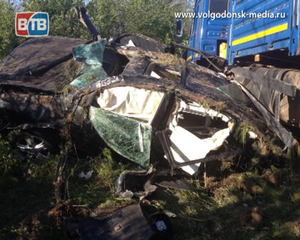Серьезное ДТП на трассе «Волгодонск-Дубовское»