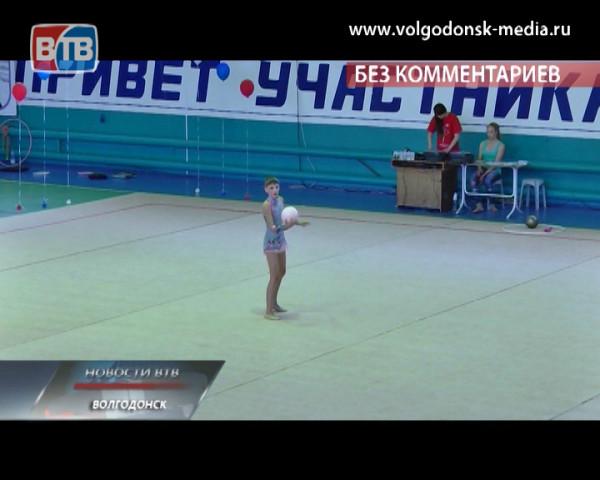 В Волгодонске состоялся традиционный турнир по художественной гимнастике «Краса Дона — 2014»