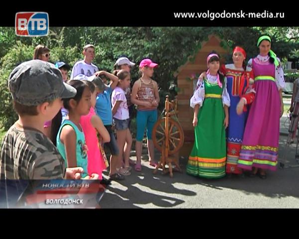 Волгодонские школьники присоединились к празднованию всероссийского «Пушкинского дня»