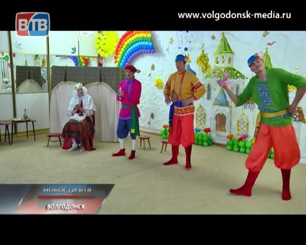Родители воспитанников детского сада «Колокольчик» подарили детям необычный спектакль