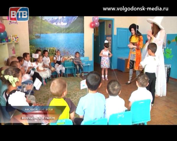 Телекомпания ВТВ устроила праздник для малышей из хутора Семенкин