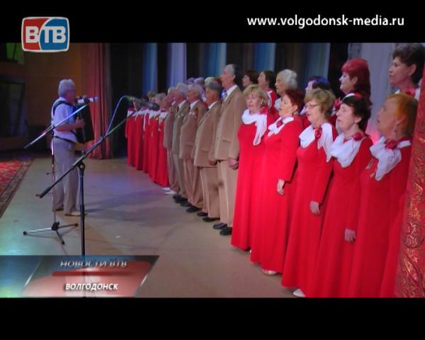 Во дворце культуры «Октябрь» в 4 раз прошла встреча волгодонцев первые воспоминания, которых связаны с Великой Отечественной войной