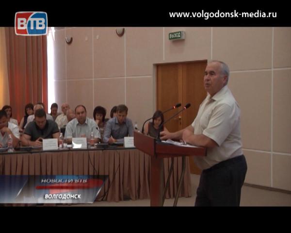 На заседании городской Думы обсудили возможности Волгодонска по приёму беженцев из Украины