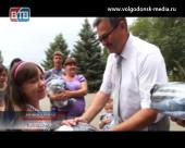 Беженцы, живущие в Волгодонске, получили гуманитарную помощь