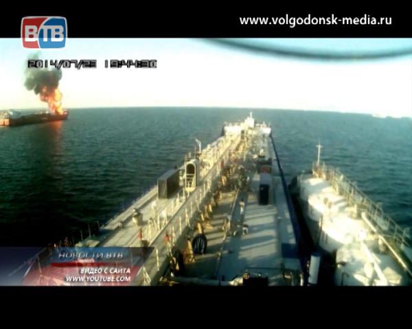 По Цимлянскому водохранилищу едва не расплылась нефть