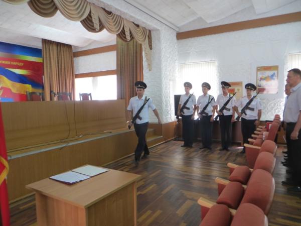 5 сотрудников полиции Волгодонска приняли Присягу