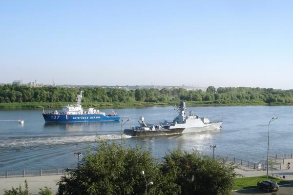 Городская делегация посетила малый артиллерийский корабль «Волгодонск»