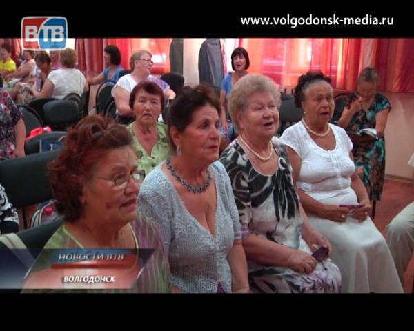 «Волгодонск культурный» представляет народный хор ветеранов войны и труда
