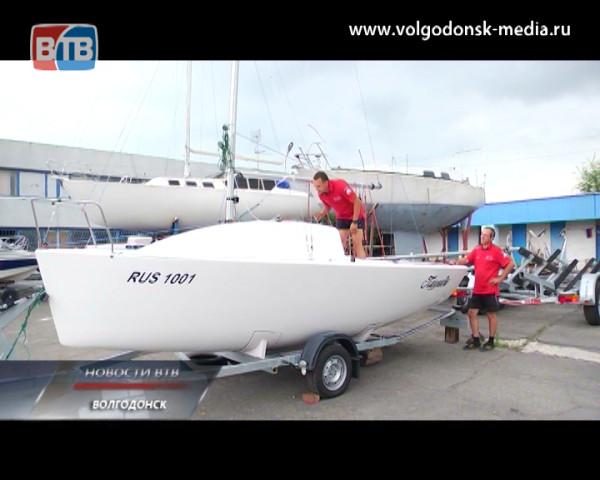 Волгодонский яхт-клуб готовится к чемпионату России. В город уже начали пребывать именитые спортсмены