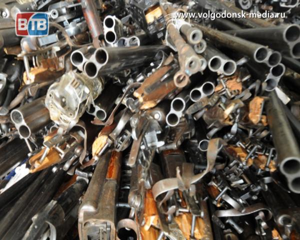 Волгодонцам предлагают сдать незаконно хранящиеся оружие и боеприпасы в обмен на освобождение от уголовной ответственности