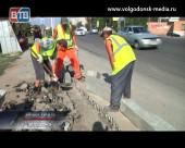 Виктор Фирсов проинспектировал ход ремонтных работ на улице Степной