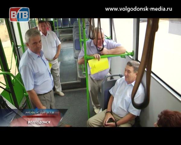 Мэр Волгодонска провёл выездное совещание с представителями фирм перевозчиков