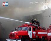 В Лагутниках сгорел дом