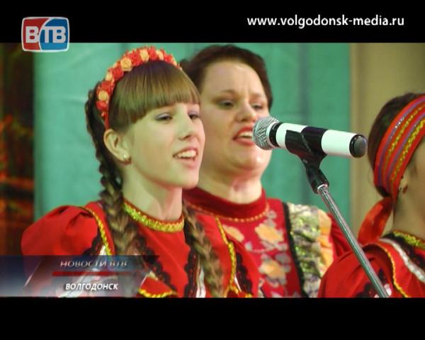 Ансамбль народной песни «Волгодон» порадовал горожан отчетным концертом