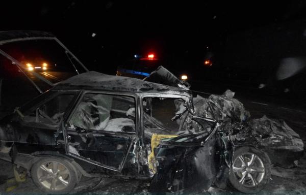 В минувшую субботу на трассе «Ростов-Волгодонск» серьезное ДТП унесло жизни двоих человек