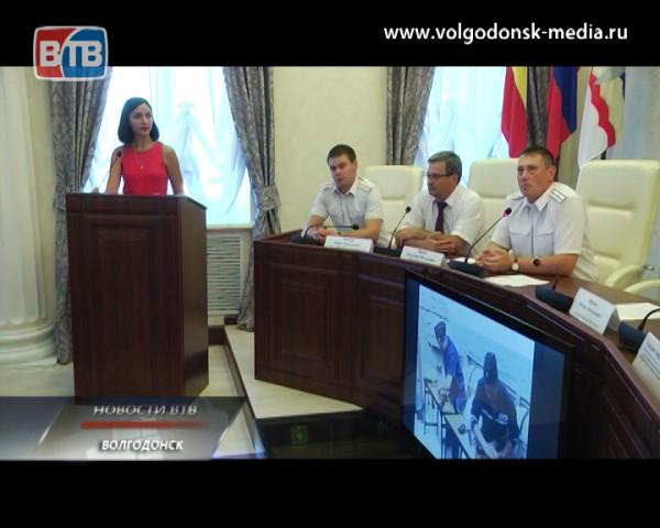 Молодежь допризывного возраста встретилась с капитаном корабля «Волгодонск»