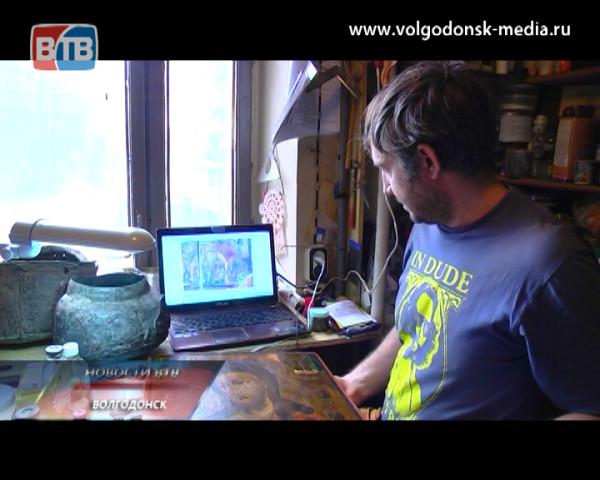 Корреспонденты новостей ВТВ познакомились с работой музейного реставратора