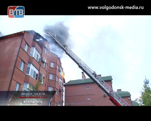 Страшный пожар на Гагарина вчера вечером уничтожил более 500 квадратных метров