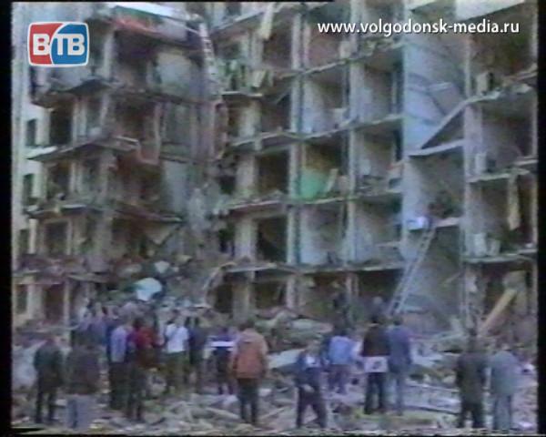 Волгодонск готовится почтить память жертв теракта 99-го
