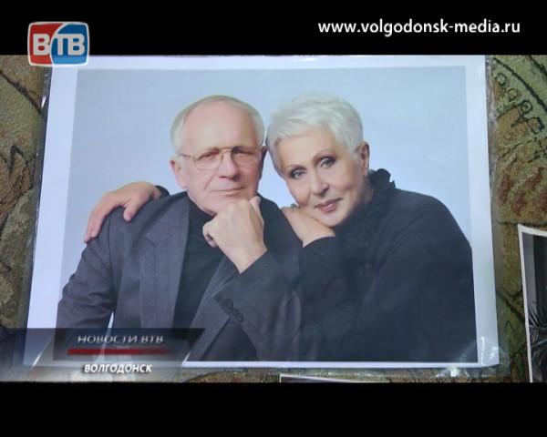 Семейная пара из Волгодонска отмечает сапфировую свадьбу