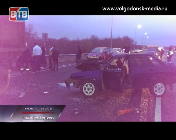 На трассе «Цимлянск-Волгодонск» произошло сразу три ДТП